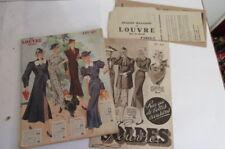 Old Catalogue Au Louvre Paris, 1937, 96 Pages Richly Illustrated