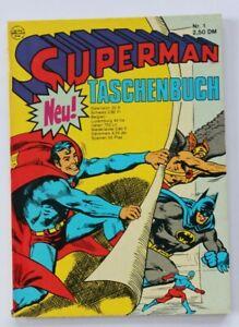 Superman Taschenbuch Nr. 1  Erstausgabe von 1976