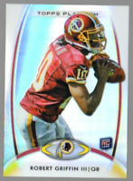 2012 Topps Platinum Football #120 Robert Griffin III RC Washington Redskins