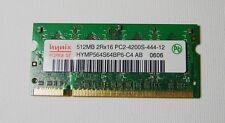 Hynix 512 2Rx16 PC2-4200S-444-12 SoDimm Ram