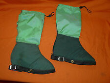 Vintage LOWE Alpine Systems Louisville, Colorado Gaiters size Large Hike Hiking