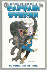 CAPTAIN STERNN RUNNING OUT OF TIME # 2 * BERNIE WRIGHTSON * KITCHEN SINK COMIX