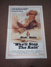 "Vintage ""Who'll Stop The Rain"" movie poster App 25x40"
