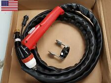P80 Plasma Torch P-80 13 Foot With Guide Wheel For HF Arc Start Plasma Cutter