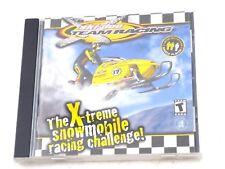 Ski-Doo Team Racing Xtreme Snowmobile pc game DISC+CASE+MANUAL WIN 95 98 ME 2000