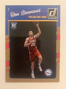 2016-17 Ben Simmons Donruss Rookie Card 151