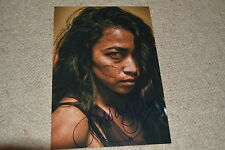 PISAY PAO signed autograph In Person 8x12 (20x30 cm) Z NATION