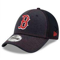 New Era Mens Boston Red Sox Team Tread 9FORTY Adjustable Hat Cap Navy Blue NWT