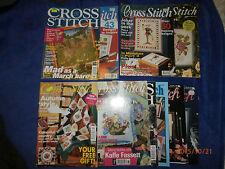 Lot of 10 Cross Stitch magazines (1990s) cross stitch, art & craft