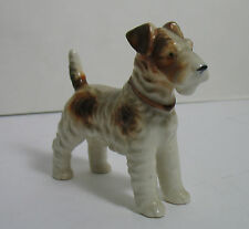 Occupied Japan AIREDALE Dog Figurine Excellent