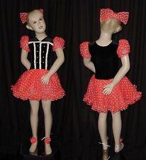 Lot of 3 Beautiful Doll Dance Costumes Tap Dresses Child Large Fit Child Medium