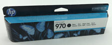Genuine/Authentic HP Officejet 970 Black Ink/Printer Cartridge - New