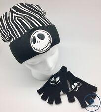 Disney The Nightmare Before Christmas Jack Beanie and Fingerless Gloves Set