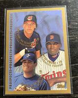David Ortiz RC 1998 Topps #257 Minnesota Twins Richie Sexton Daryle Ward