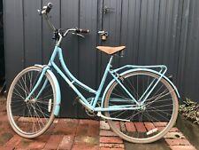Papillionaire Vintage Retro Ladies Bicycle, Powder Blue in Good Condition