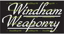 Windham Weaponry - Outdoor / Hunting Sports - Vinyl Die-Cut Peel N' Stick Decals