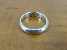 Band sleek smooth Size 6 1/4 Sterling Silver 926 Ring