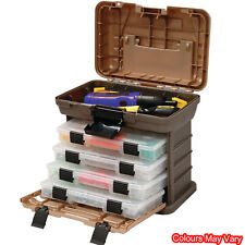 37 Compartment Small Parts Tool Box Storage Bins Organizer Tray Container Tote