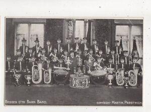 Besses O'Th Barn Band Vintage Postcard Prestwich 609b