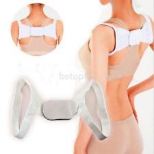HOT Adjustable Chest Belt Posture Shoulder Corrector Straight Back Brace Band FR