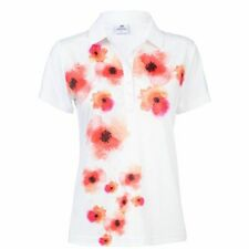 DAILY SPORTS JEMIMA POLO size LARGE colour WHITE