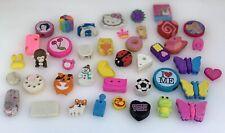 Vintage Novelty Eraser Rubbers Collectible Erasers Bundle Job Lot Used