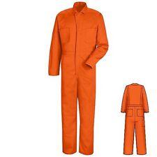 New Red Kap 100% Cotton Snap-Front Work Uniform Coveralls CC14 Irregular