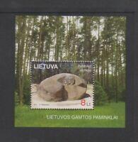 Lithuania - 2011, Natural Heritage sheet - MNH - SG MS1039