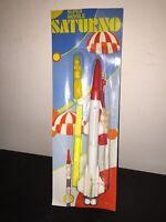 Giolitto Giocattolo Spaziale Volante MISSILE SATURNO Made Italy anni 70 vintage