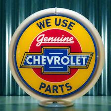 """North Star Gasoline 13.5/"""" Gas Pump Globe Made by Pogo/'s Garage"""