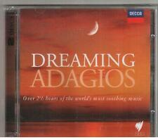 2 CD SET DREAMING ADAGIOS New & Sealed 154 Minutes