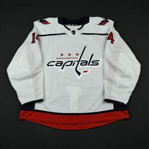 2017-18 Anthony Peluso Washington Capitals Game Issued ADIDAS Hockey Jersey NHL