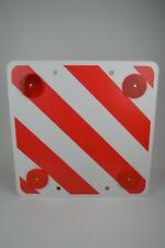Warntafel hinten für Wohnwagen, Wohnmobil, Boot, Reisemobil, Caravan 50x50cm
