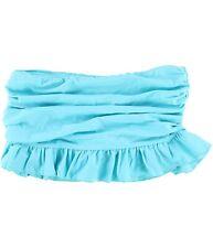 Island Escape Womens Ruffled Skirtini Skirt Swim Bottom, Blue, 12