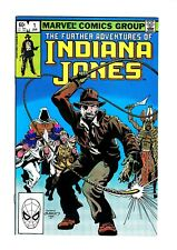Further Adventures of Indiana Jones #1 NM/M New Story Byrne-s/a HTF🔑🔥!