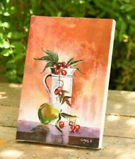 Fruits in a jar Ethiopian African painting