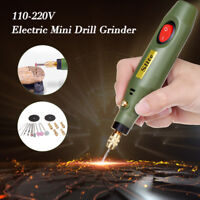 Electric Drill Grinder Tool Grinding Polishing Drilling Engraving Cutting Set