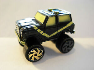 VINTAGE MICRO MACHINES CHEVY/GMC BLAZER LIFTED MONSTER TRUCK IN BLACK