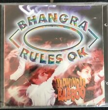 BHANGRA RULES OK - YADWINDER BABBOO - CD.  NEW. STILL SEALED.