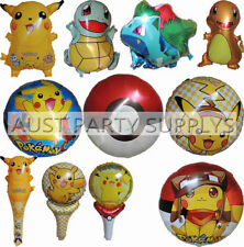 Birthday, Child Pokemon Unbranded Party Balloons & Decorations