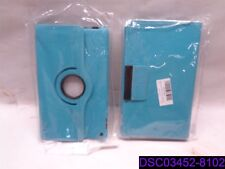 """Qty = 4: Artificial Leather Folding Folio Case for Kindle Fire HD 8"""" Light Blue"""