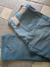 NEW LEVIS 527 SLIM BOOTCUT JEANS MENS 44X32 STYLE; 055270398  FREE SHIP