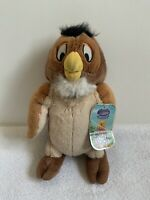 BNWT Disney Store Winnie The Pooh - Wise Owl - Soft Plush Stuffed Teddy Toy Doll