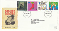 6 JULY 1999 CITIZENS TALE ROYAL MAIL FIRST DAY COVER  BUREAU SHS (z)
