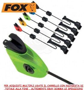 Fox MK3 Swinger  CON CANCELLETTO CARP FISHING SCIMMIETTE AVVISATORI VISIVI