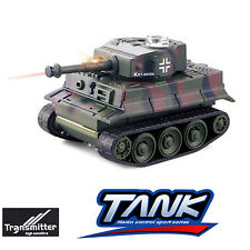 777-215 RC Tank 27Mhz Infrared RC Battle Tiger Tank Remote Control Tank Toy