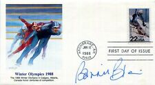 AUTHENTIC Olympic speed skater Bonnie Blair signed FDC