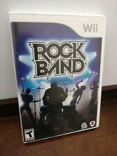 Wii Rock Band With 5 Bonus Tracks