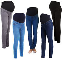 c37b3ad48b651 NEW LOOK Skinny Over Bump Maternity Jeggings Pregnancy Stretchy Jeans Sizes  8-18