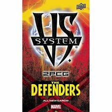 Upper Deck UD VS System 2PCG Marvel The Defenders Box New Sealed
